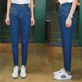 2017 Fashion Vintage Ladies Retro High Waist Jeans Woman Harem Loose Casual Denim Trousers Boyfriend Jeans for Women 227