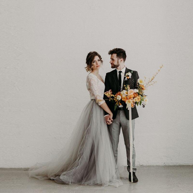 2017 Moderno Noiva Saia Longa de Tule Lush Solf Tule Drapeado Saia com Trem Tribunal vestidos de casamento Boutique vestido de Noiva Maxi Saia Personalizado feito