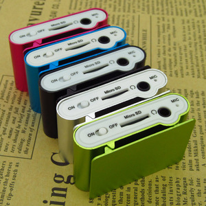Image 5 - スポーツ MP3 プレーヤー液晶画面/金属ミニクリップ金属多色ポータブル MP3 音楽プレーヤーマイクロ tf/sd カードスロット
