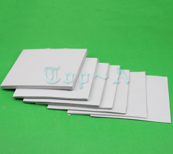 5 pcs Gdstime 100x100mm 2mm Heatsink Cooling Conductive Chipset Thermal Silicon Pad Hight Quality Heat Sink
