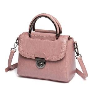 Image 5 - Viney Bag Girl 2019 New Genuine Leather Bag Handbag