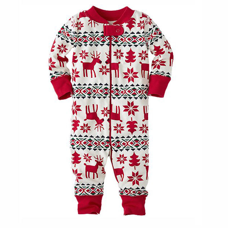 45f8c1343f9e 2018 Winter Family Christmas Pajamas Baby Kids Mom Dad Clothing Home ...