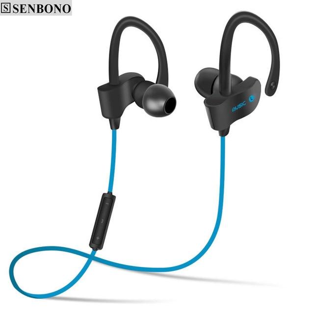 d6ed96070e0 SENBONO S4 Bluetooth headset Wireless sport hands-free headphones stereo  music earphones with microphone
