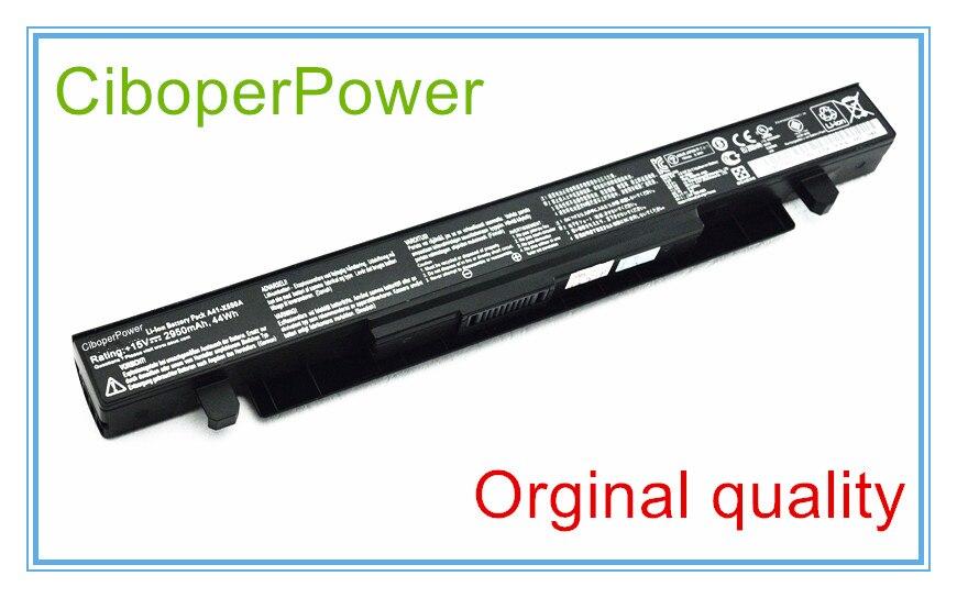 Batterie d'origine Pour A41-X550A X550D X550C X550 X450C X550V A550 A41-X550 A41-X550A 4 Cellules 2950 MAH