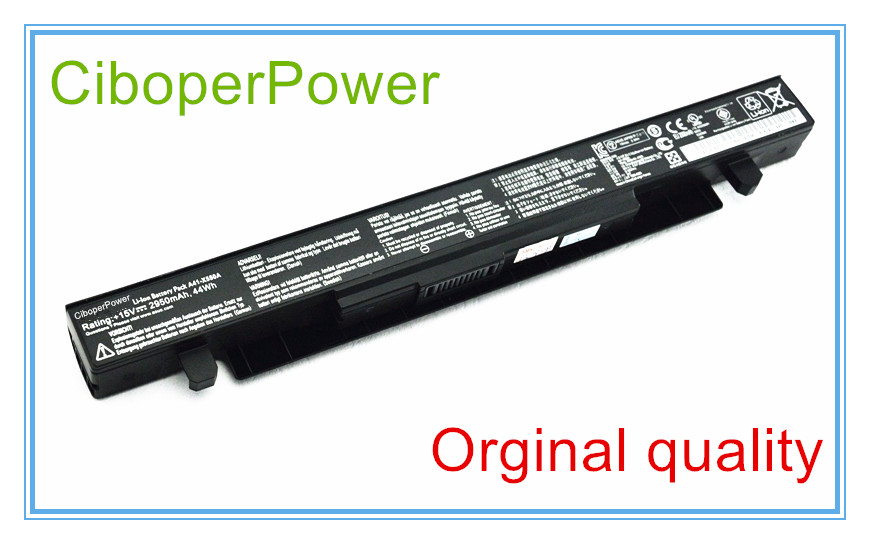 Original Battery For A41-X550A X550D X550C X550 X450C X550V A550 A41-X550 A41-X550A 4Cells 2950MAH цена