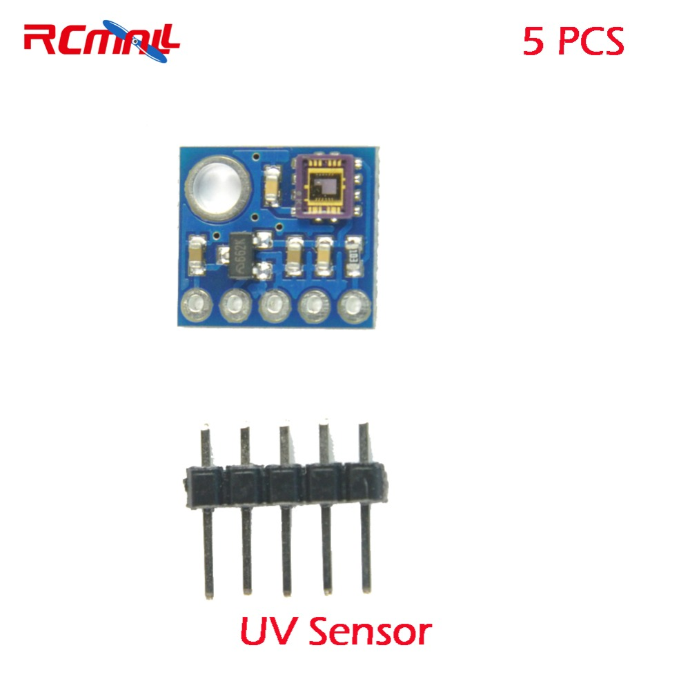 1PC GY-8511 UV sensor module GY-ML8511 Analog output UV Sensor Breakou