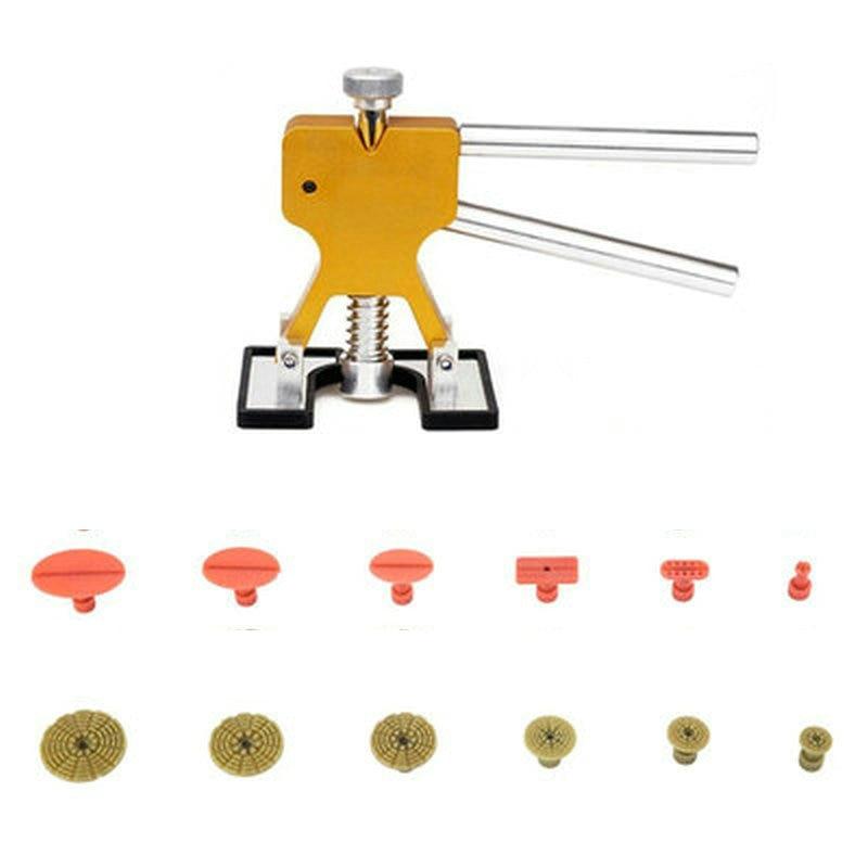 Herramientas PDR Herramientas de reparación de abolladuras sin pintura Eliminación de abolladuras Lengüetas de extracción de abolladuras Dent Lifter PDR TOOLKIT