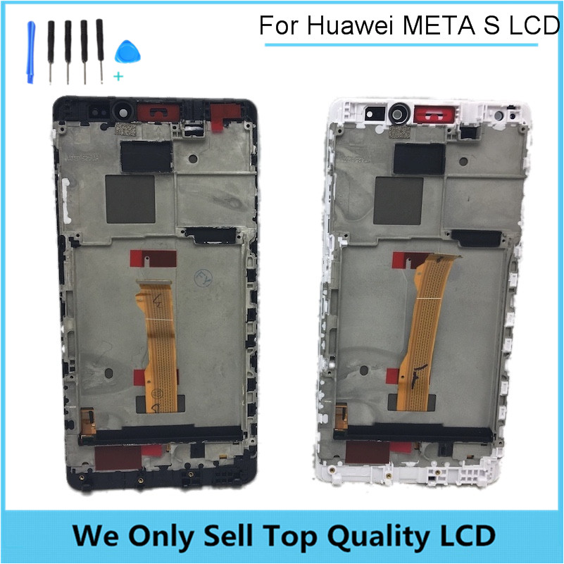 New LCD for Huawei Mate S Display with Touch Screen Digitizer Assembly Replacement with Frame Free Shipping 10PCS/LOT  10pcs lot lcd assembly for htc one m7 lcd display touch screen digitizer with frame bezel replacement new original quality