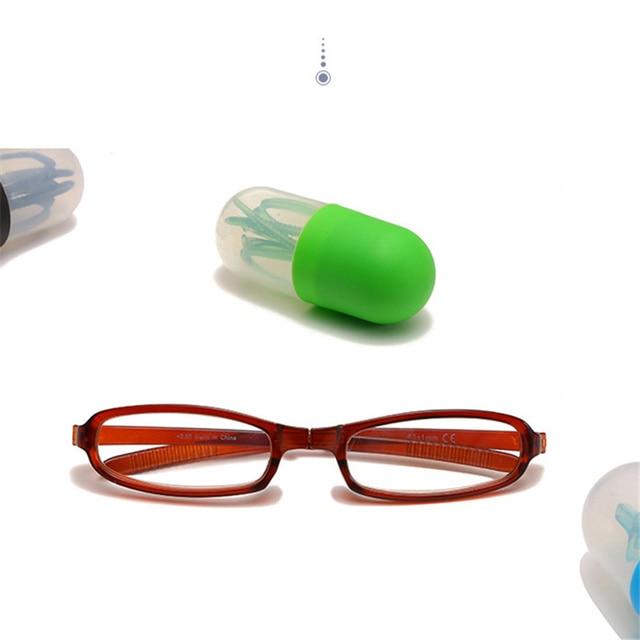 f0c9a68470 YOOSKE los hombres plegables pluma gafas de lectura de las mujeres  portátiles lápiz caso, sostenedor