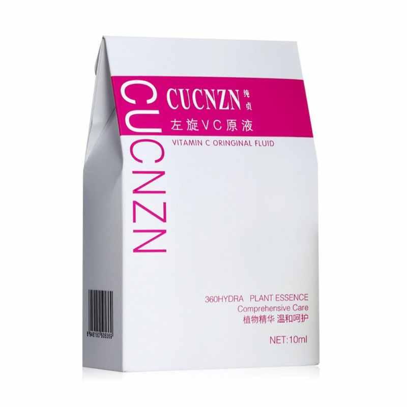 السائل تقليل النمش العلامة التجارية Hyaluron المصل العناية بالوجه فيتامين C المصل كريم تبييض إزالة حب الشباب البقع علاج الوجه T