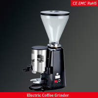 burr espresso coffee grinder mill 360w electric flat wheel type coffee bean grinding machine