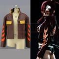Gurren Lagann Tengen Toppa Gurren Lagann Yoko Litten Coat PU Leather Cosplay Costume