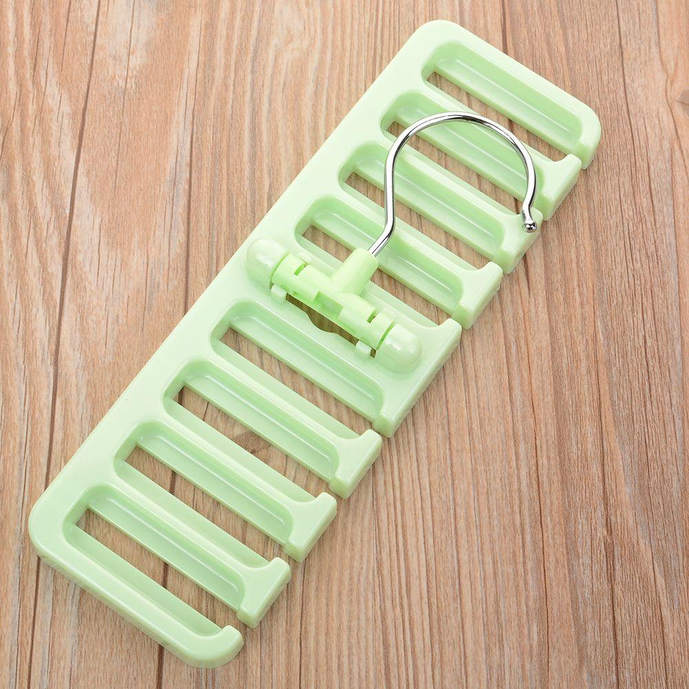 20f# Storage Rack Tie Belt Organizer Space Saver Rotating Scarf Ties Hanger Holder Hook Closet Organization Tank Tops Bra Belts