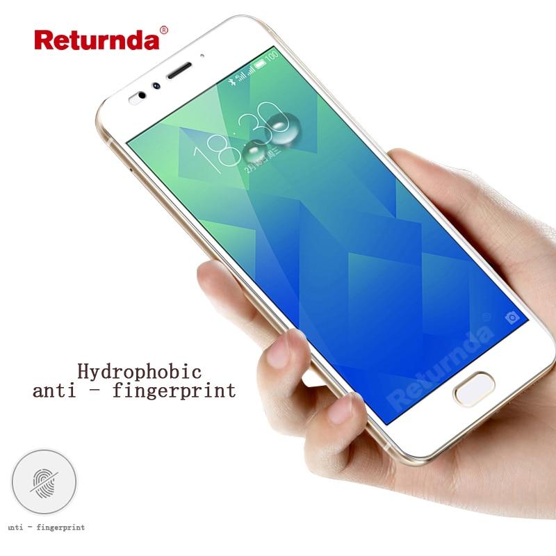Ultra Slim Helt härdat glas för Meizu pro 6 U20 MX6 Skärmskydd för meizu U10 m3 anteckning m5 m5s E2 telefon Skyddsfilm