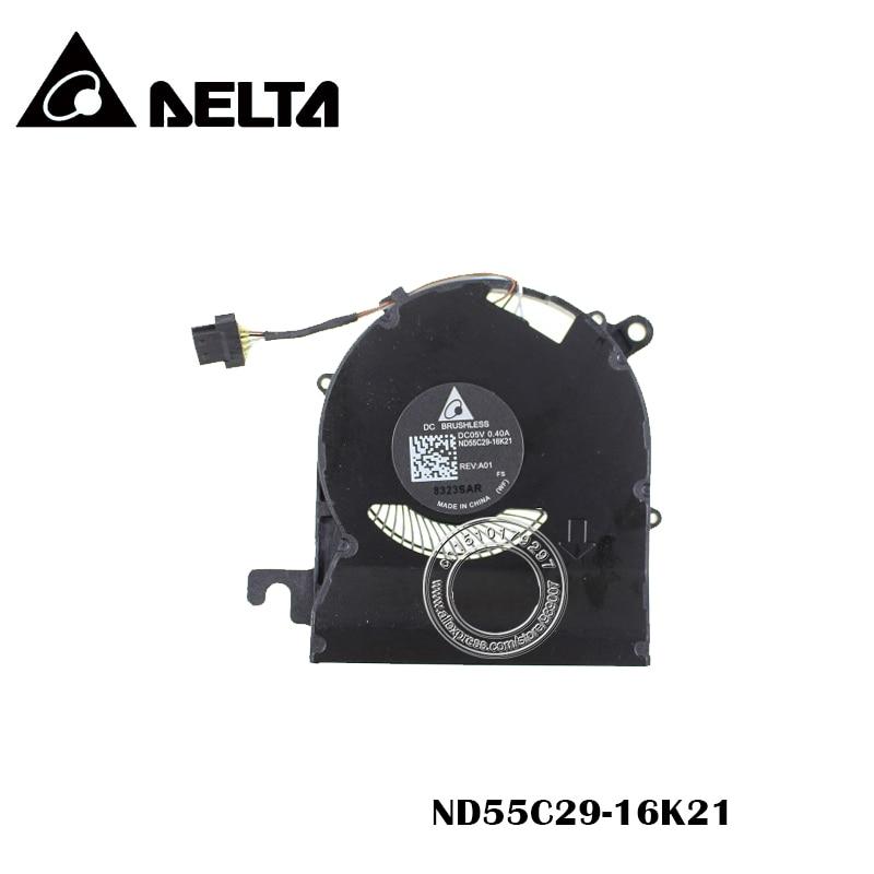 Original Cooling Fan DELTA DC05V 0 40A ND55C29 16K21
