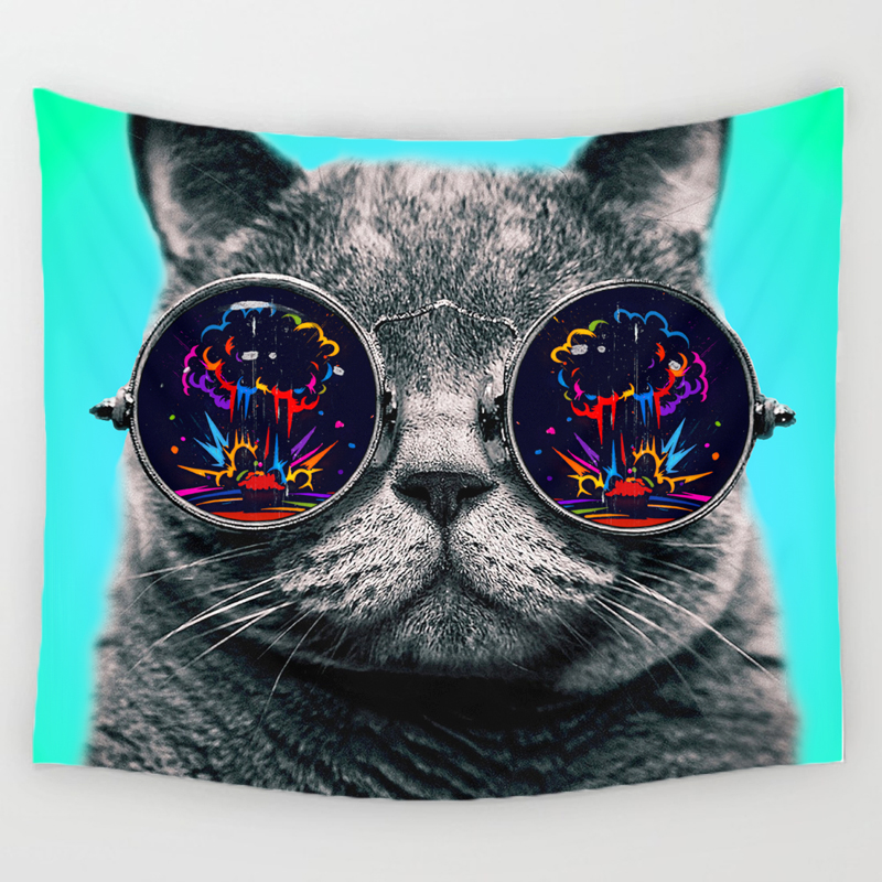 Cat Lovers Wall Tapestries 3
