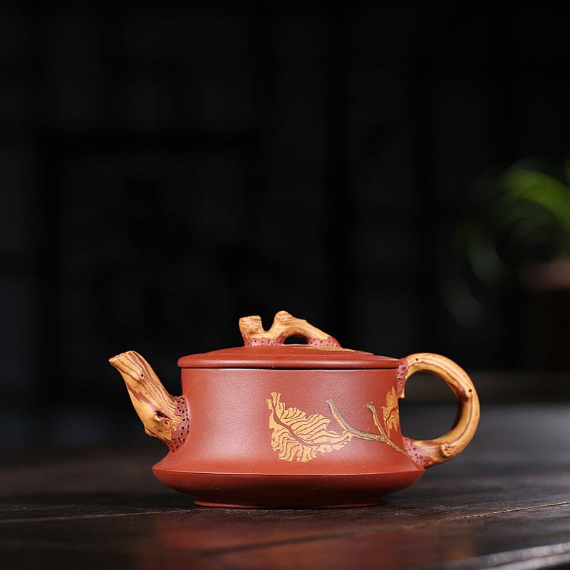 270ml Yixing Purple Clay Teapot Hand Painted Zisha Pot Kung Fu Tea Set Puer Kettle Drinkware Household Decoration Ornamental270ml Yixing Purple Clay Teapot Hand Painted Zisha Pot Kung Fu Tea Set Puer Kettle Drinkware Household Decoration Ornamental