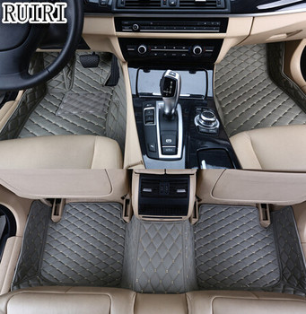 Best quality & Free shipping! Custom special floor mats for Volkswagen Touran 5 seats 2015-2006 Easy to clean waterproof carpets