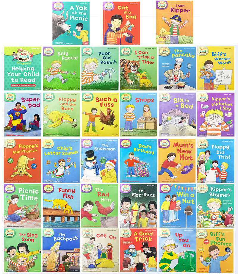 Image 3 - Oxford ReadingTree English Reading Book Helping Your Child to Read 1 3 Level  33pcs/set-in Books from Office & School Supplies