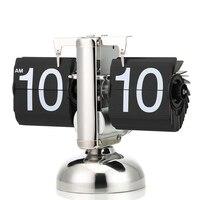 Digital Flip Down Clock Internal Gear Operated Flip Desk Shelf Clock TB Sale