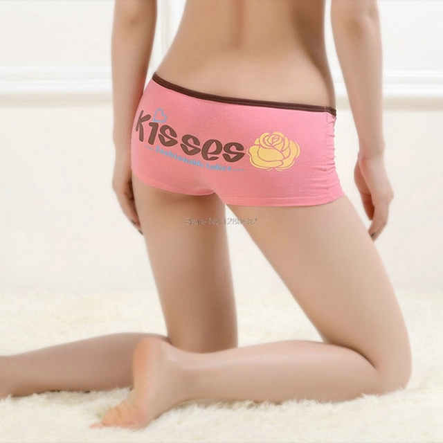 Sexy girls wearing boy shorts panties