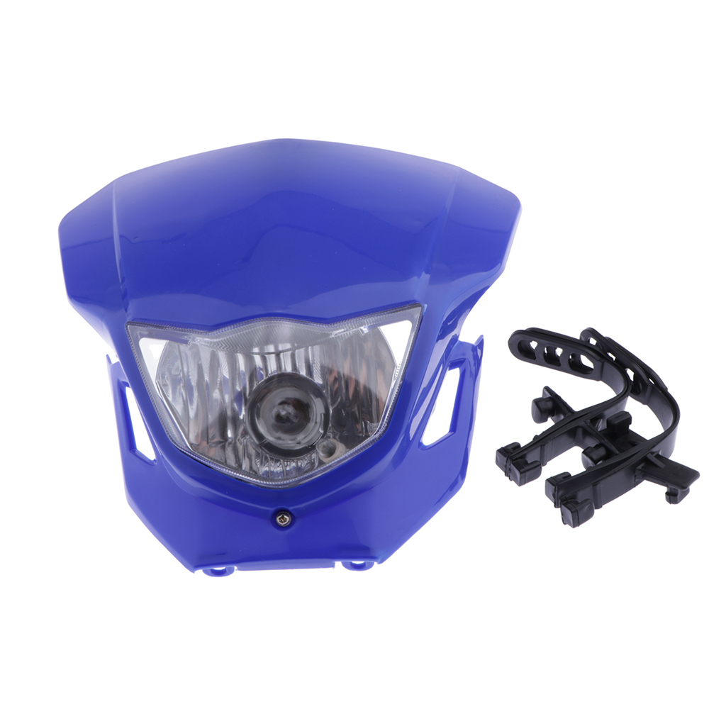 Motorcycle <font><b>Universal</b></font> Head Lamp Lighting Dual Sport <font><b>Dirt</b></font> <font><b>Bike</b></font> 12V <font><b>Headlight</b></font> Fairing for HONDA 110-250CC Motorbike image