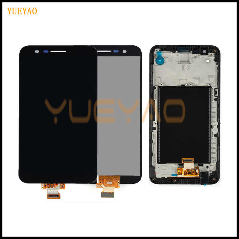 YUEYAO LCD Screen For LG K20 Plus MP260 TP260 VS501 LCD Display Touch Screen Digitizer with Frame Full Assembly Replacement
