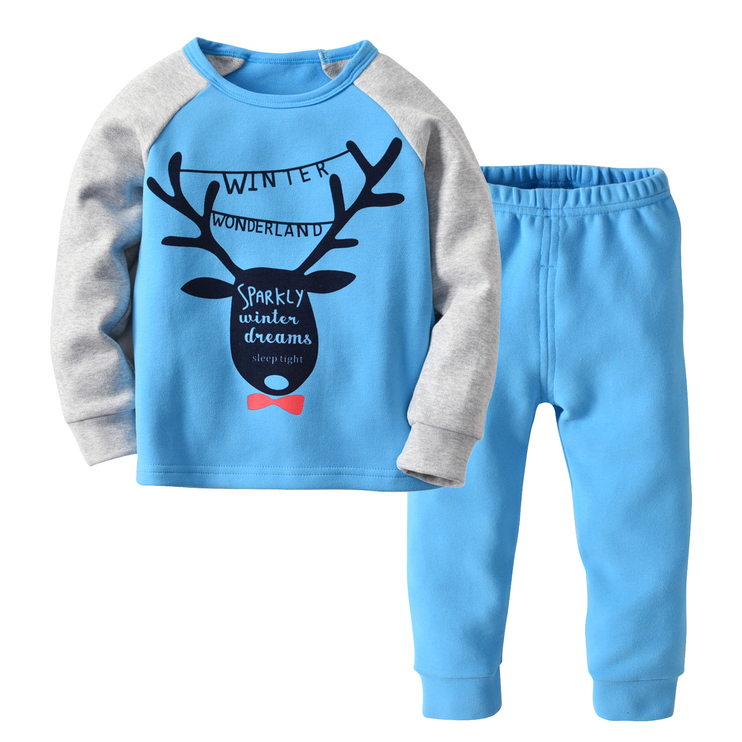 High Quality Kids Pijama Boys Pijamas Cotton Pyjama Boy Christmas Pajamas Pyjamas Kids Teens Home wear Sleepwear 2-14Yrs CA270