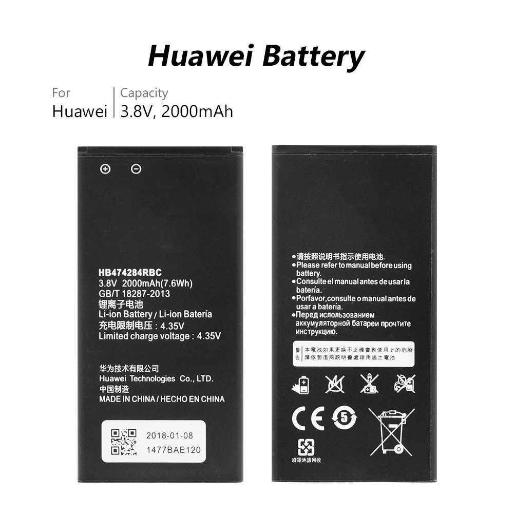 eb915bbbb8d Original HB474284RBC Li-ion phone battery For Huawei y550 y560 y625 y635  g521 g620 C8816