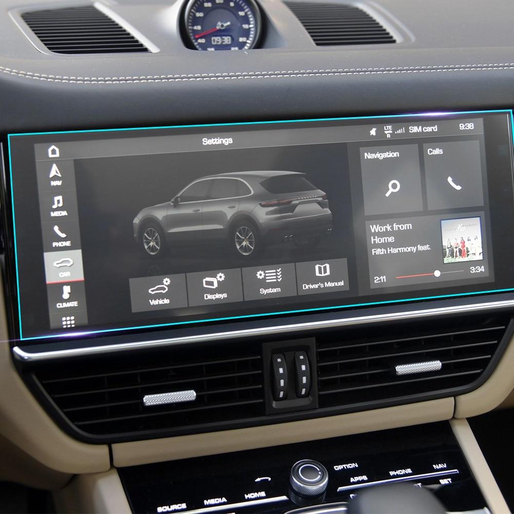 Car interior console gear panel clear screen protector - Automotive interior protective film ...