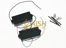 Black Closed P Bass Pickup Sealed Bass Pickups for 4 String Precision Bass