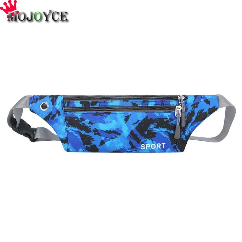 Camouflage Sport Men Women Nylon Waist Bags Shoulder Fanny Chest Pack Pouch Bag For Womrn 2018
