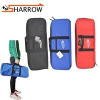 1pc Archery Recurve Bow Bag Cases Bag Holder Canvas Recurve Bow Bag 66cm x 24cm x 6 cm Outdoor Shooting Accessories