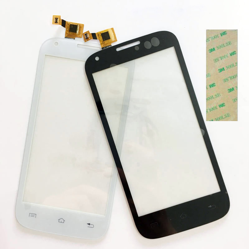 4.5 Touch Screen Digitizer White For Fly IQ4406 IQ 4406 ERA Nano 6 touchscreen Replacement Touch Panel Lens Front Glass Lens