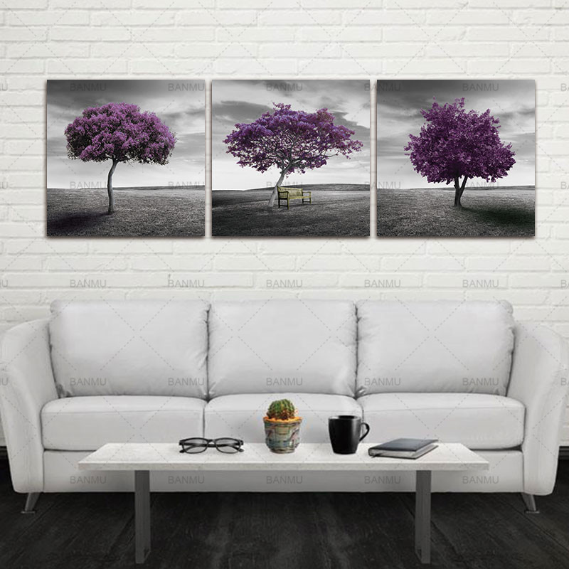 Aliexpress Com Buy Free Shipping 3 Piece Wall Decor: Canvas 3 Piece Free Shipping Modern Wall Art Home