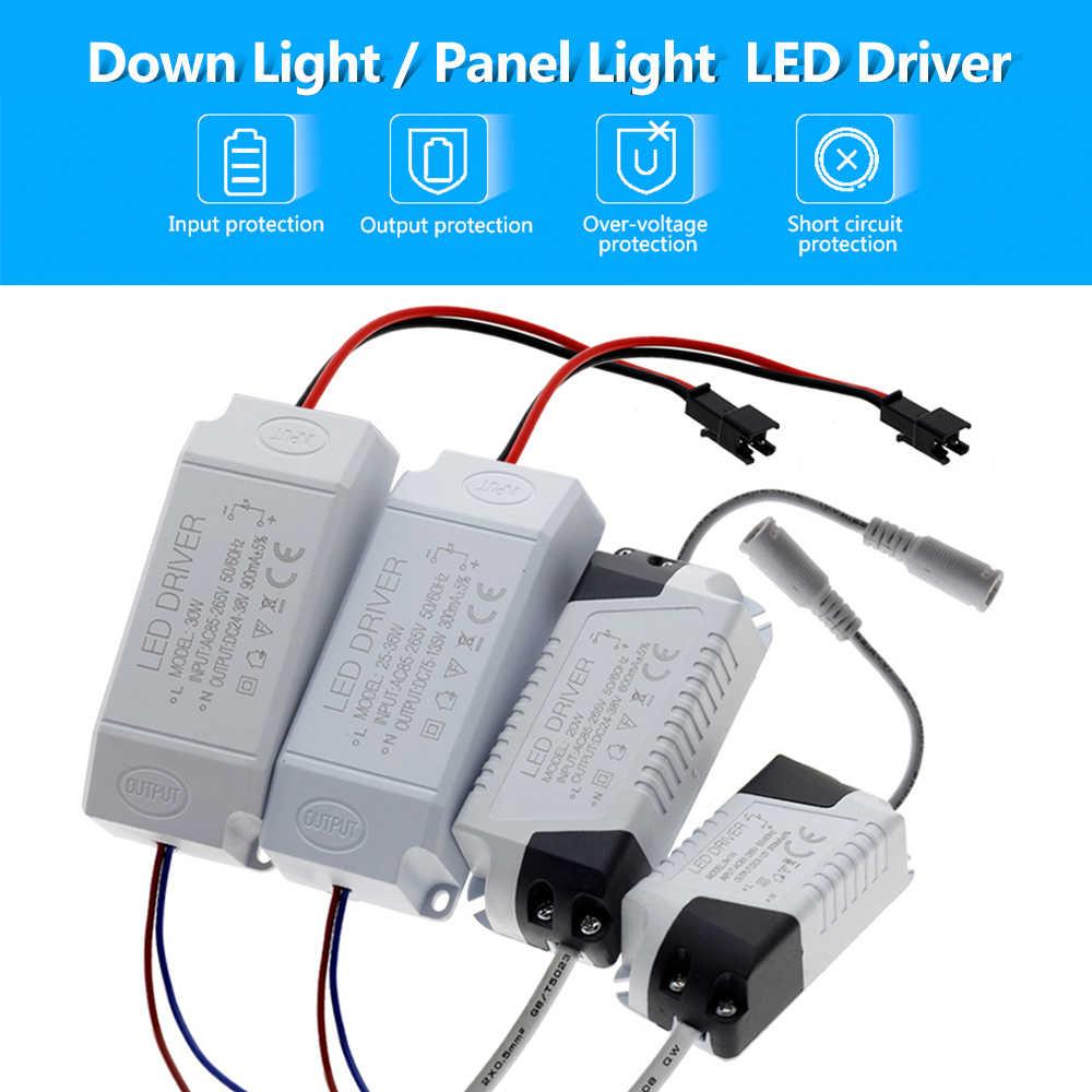 Светодиодный водитель 1-3 W 4-7 W 8-12 W 18-25 W 25-36 W AC85-265V трансформатор для освещения светодиодный Панель свет/светильник/прожектор драйвер.