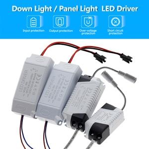 Image 2 - LED 드라이버 1 3W 4 7W 8 12W 18 25W 25 36W AC85 265V 조명 변압기 LED 패널 조명/통/스포트 라이트 드라이버.