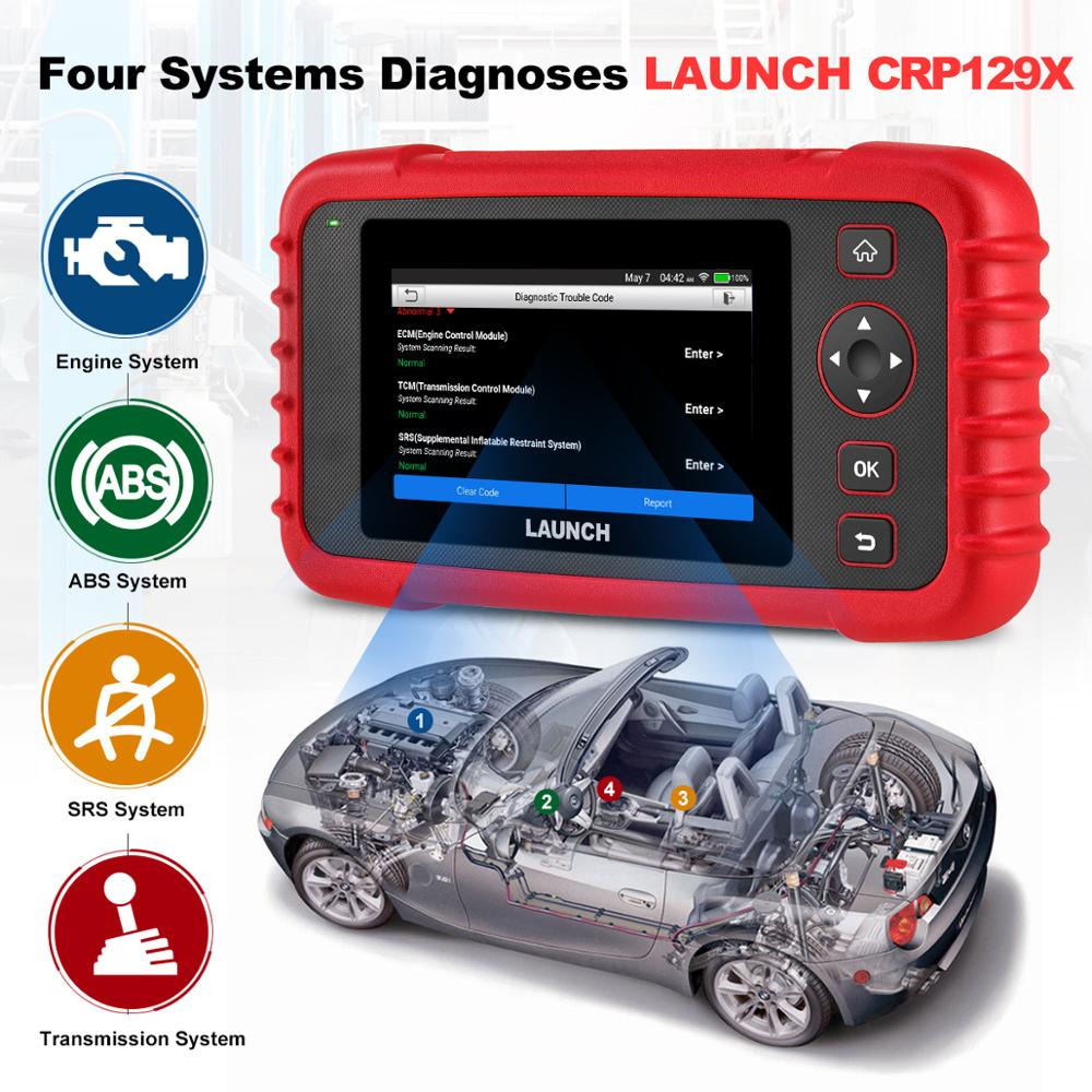 US $203 22 44% OFF|Launch X431 CRP129X OBD2 Car Scanner Automotive  Diagnostic Tool Auto Scan Reset Tools TPMS EPB Throttle PK Creader VIII  CRP129-in