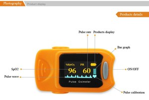 Image 5 - Lovego Free shipping CE&FDA Finger Pulse Oximeter  Health LED Blood Oxygen SPO2 PR Saturation Oximeter Monitor