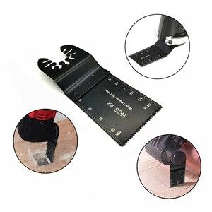 Image 3 - 20 sztuk wielofunkcyjny bi metal precyzyjne brzeszczot narzędzie wielofunkcyjne oscylator brzeszczoty do pił do renowacji moc cięcia Multimaster narzędzia