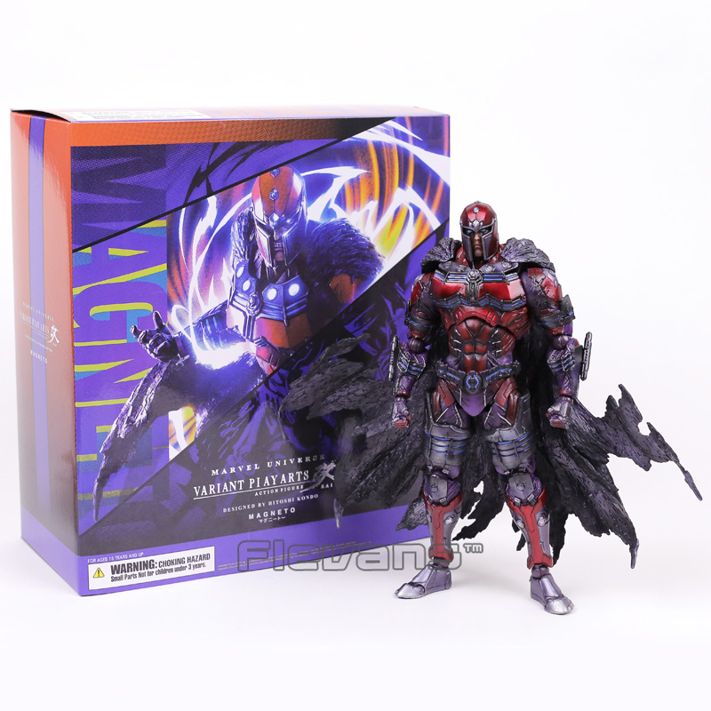 Marvel Universe VARIANT PLAY ARTS KAI X-men Magneto PVC Action Figure Collectible Model Toy 25cm play arts kai street fighter iv 4 gouki akuma pvc action figure collectible model toy 24 cm kt3503