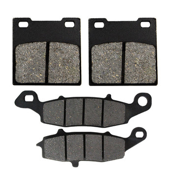Motorcycle Front & Rear Brake Pads Pad Kit For SUZUKI GS500 1996-2010 GS500F 2004-2009 GS500E 1996-2003 SV400 SV400S 1998 1999 for suzuki gsf1200 96 00 motorcycle front and rear brake pads set