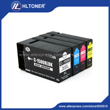 pigment ink 4pcs/set  Compatible ink cartridge PGI1500XL for canon MAXIFY MB2050 MB2150 MB2350 MB2750