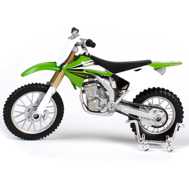 MAISTO 1:18 Kawasaki KX250F kx 250f MOTORCYCLE BIKE CAST MODEL ...