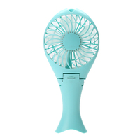 Portable Handheld Mermaid Fans Rechargeable Air Conditioner Usb Fan Air Conditioning Conveniently Carry Foldable Ventilador Fans