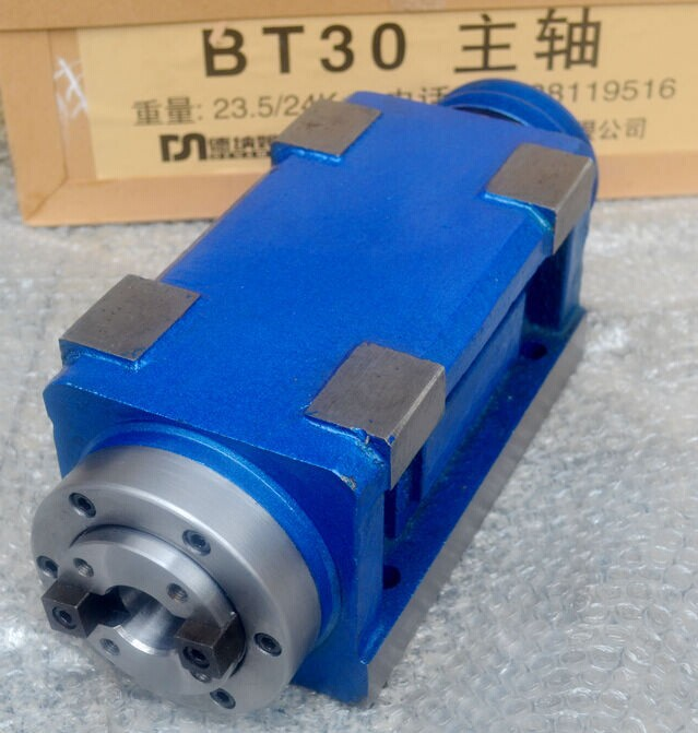 high speed BT 30 Spindle head milling and milling power