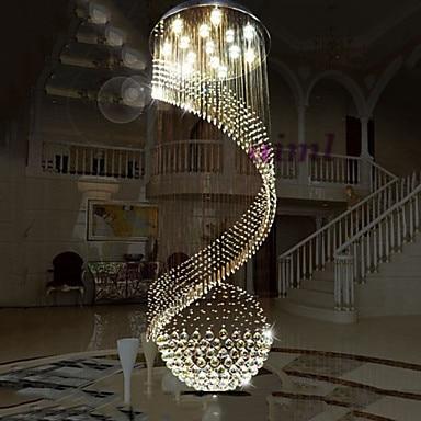 Høj kvalitK9 Cystal lysekrone pendelbelysning hængende loftslamper - Indendørs belysning - Foto 2
