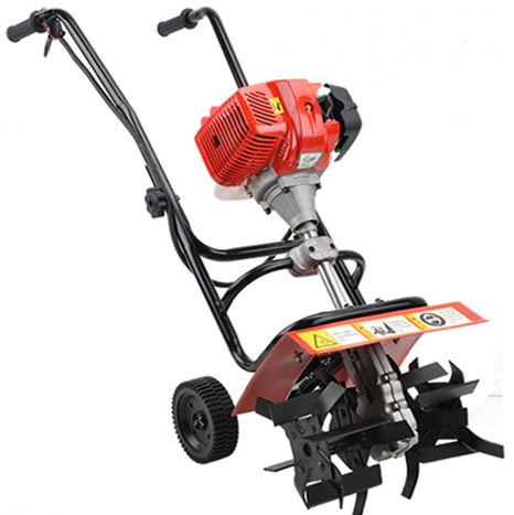 Profesionalūs sodo įrankiai 52 cc 1,9 kW mini benzinas Tiller Garden mini kultivatorius, benzino kultivatorius