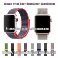 Woven Nylon Loop Band For Apple Watch Band Series 3 2 1 42mm 38mm For Apple