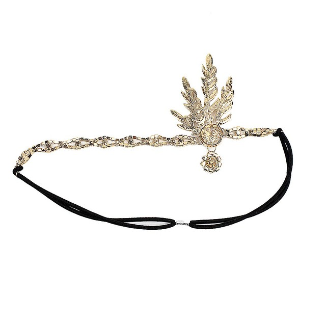 Women Headband Pendant Charleston Party Bridal Headpiece Lady Women Wedding Bridal Bridesmaid